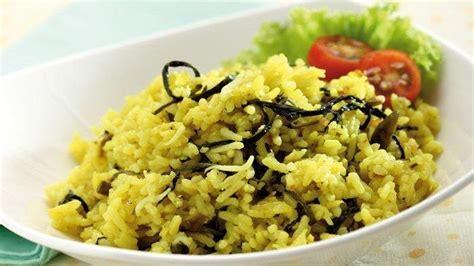 resep nasi gurih ikan asin enak menu sederhana