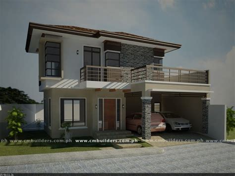 houses design images modern zen house design cm builders