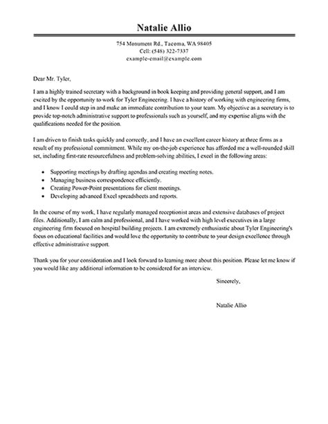 best photos of sle cover letter administrative