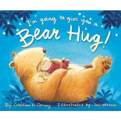 book review give me a hug 8 life lessons from nick your heck of a bunch i m going to give you a bear hug