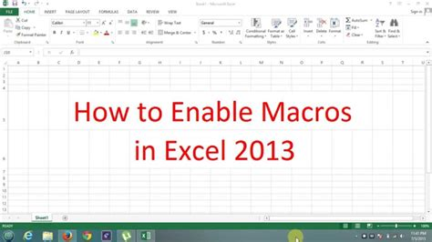 how to record a macro in excel 2007 youtube excel macro excel 2007 vba open workbook disable macros how to
