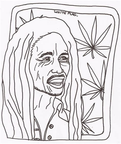 Bob Marley Coloring Pages Coloring Pages Coloring Bob Marley