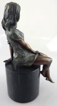 art deco lady l antiques atlas art deco bronze of a sitting lady