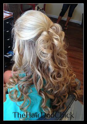 curly partial up how blonde curls partial up do my hair color and hairstyles