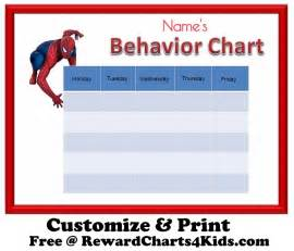 Chore Chart For Kids How To Make A Chore Chart free behavior charts