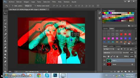 hacer imagenes en 3d online hacer efecto 3d en photoshop cc youtube