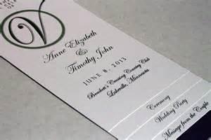 diy wedding programs templates free diy 4 page layered wedding program template circle