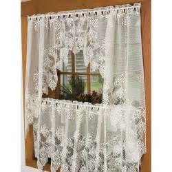 Lace Kitchen Curtains Pinecone Lace Curtains Sturbridge Yankee Workshop
