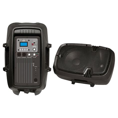 Speaker Usb Mp3 pyle pro audio pphp803mu 8 600 watt powered two way pa