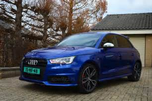 car picker blue audi s1