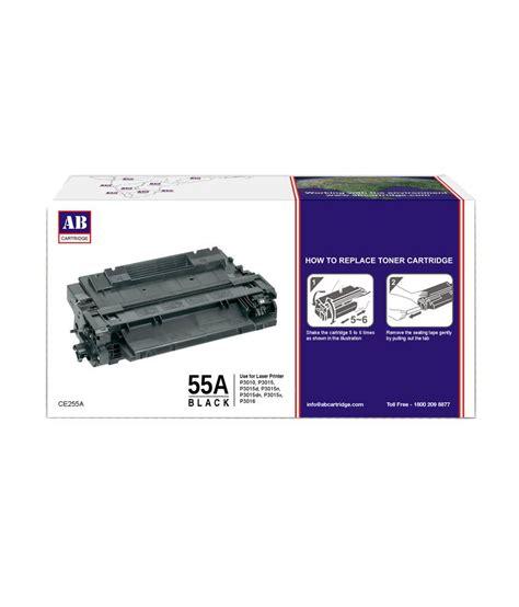 Toner Hp 55a Black ab 55a black toner cartridge ce255a hp 55a black toner compatible for hp laserjet p3010