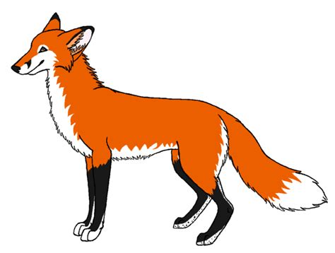 fox clipart free fox clipart black and white images 2018