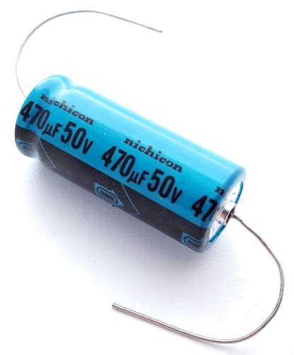 470uf 50v electrolytic capacitor capacitors