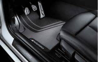 Bmw M4 Floor Mats Uk Bmw M Performance Genuine Front Floor Mats Set F20 F21 1