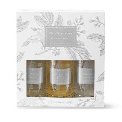 williams sonoma fleur de sel kitchen essentials kit williams sonoma williams sonoma frosted clove kitchen essentials kit