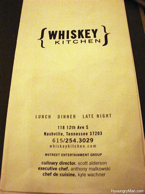Whiskey Kitchen Menu by Just Photos Whiskey Kitchen 171 Hyoungry
