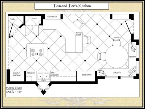 floor plans with large kitchens kitchens patterson decorating group portfolio