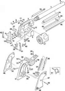 basic parts of revolver wiring diagram and parts diagram images