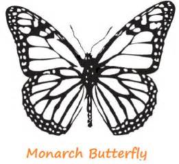 monarch butterfly template printable butterfly coloring pages hubpages