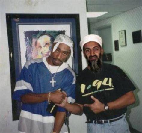 classic fake photo tupac and osama wafflesatnoon com