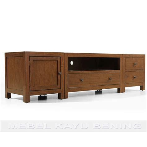 Rak Tv Minimalis Jati rak tv kayu jati model minimalis andalas
