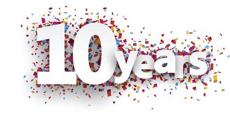 10 year anniversary vocations anniversary celebrating 10 years of