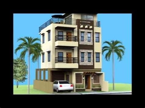 house plan designs  storey  roofdeck youtube