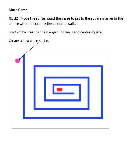 How To Make A Maze On Paper - for creating a maze with scoring and