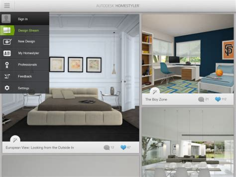 virtual home design app for ipad new autodesk homestyler app transforms your living space