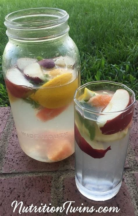 Detox Water Lime And Apple by Apple Cider Vinegar Detox Drink Nutrition