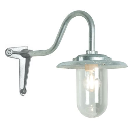 Reflektor Lu Cs 1 Original Ahm exterior corner bracket light with swan neck arm 7677