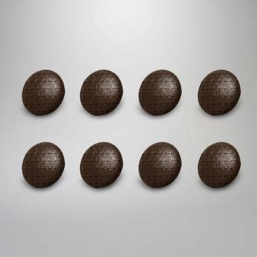 acvw upholstery buttons squareweave vinyl set of 8