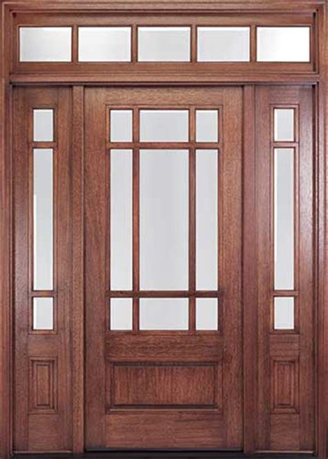 Exterior Door With Transom Craftsman Style Front Doors Entry Doors Exterior Doors Homestead Doors