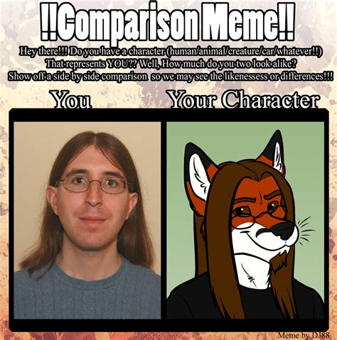Comparison Meme - comparison meme by foxpiper1986 on deviantart