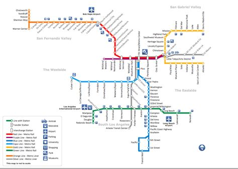 los angeles subway map subway map how to draw metro map style infographics los angeles metro map rail