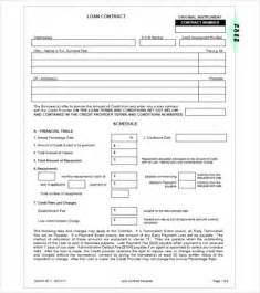 Secured Loan Template by 26 Great Loan Agreement Template