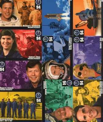 sts for card uk nasa sts 94 set of 10 mission cards