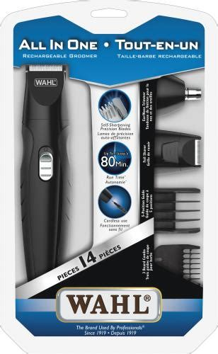 wahls groomsman pro all in one rechargeable grooming kit wahl canada grooming styling multi purpose