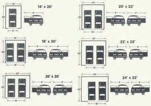 Size Of Two Car Garage by Steele And Loeber Garage Sizes Garage Sizing Chicago