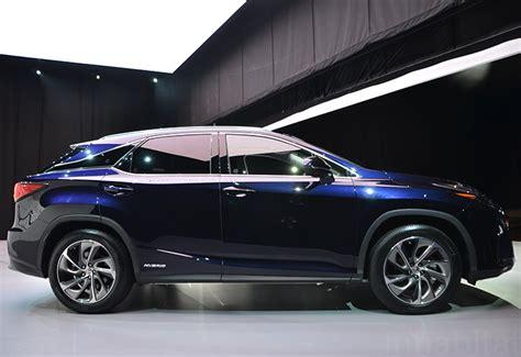 lexus rx 450h hybrid car 2016 lexus rx 450h hybrid makes a bold statement at the