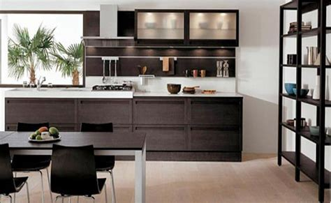 new home designs latest homes modern wooden kitchen modern dark wood kitchen designs
