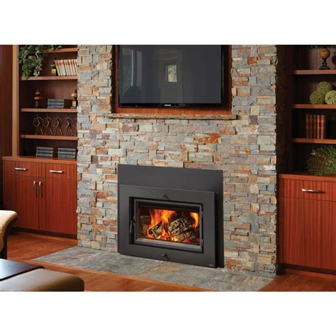 wood burning fireplace heaters lopi flush wood large hybrid