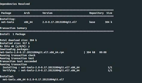 tutorial netstat linux install nmap dan netstat di centos 7