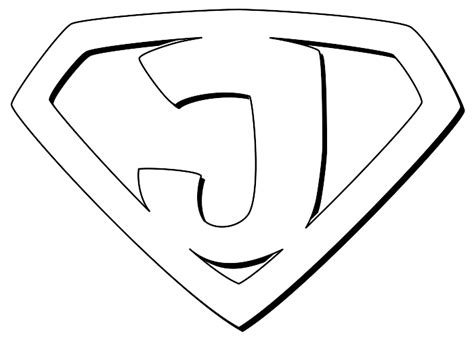 superhero logos coloring pages coloring pages free