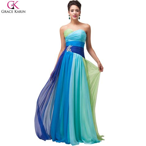 Dress Rainbow 1 popular rainbow prom dresses buy cheap rainbow prom
