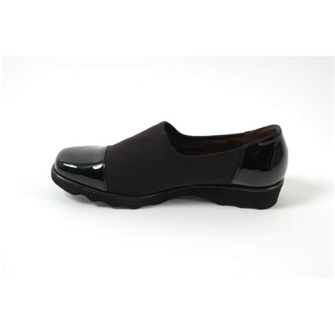 gabor shoes solange trouser shoe in black stretch