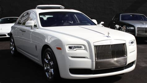 rent a rolls royce ghost in miami carbon rentals