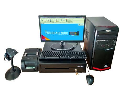 Mesin Kasir Komputer Kasir Paket Kasir 1 perangkat komputer kasir paket c kios barcode