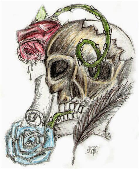 imagenes de calaveras soldados marcos guill 233 n guill 233 n calavera con rosas