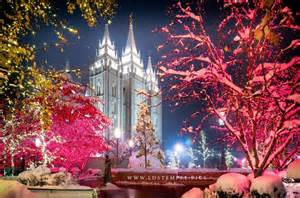 salt lake city lights salt lake temple lights lds temple pictures